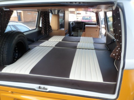 The Ashington Vw T2 Full Width Campervan Seatbed Order