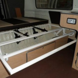 Campervan bed frame interesting likes comments marshall for Furniture 4 u ashington