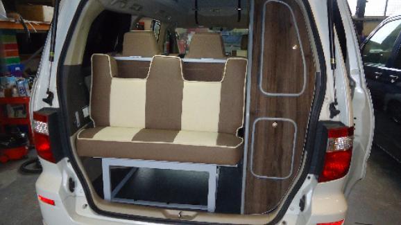 Bongo Campervan Bed Seat Order Online From Poptop Camper