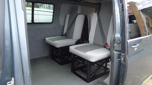 New Style Washington Campervan Single Bed Seat Order